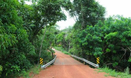 Mais uma ponte é finalizada na Fercal