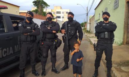 AniversAriante de Sobradinho recebe a visita do Batalhão de Operações Especiais
