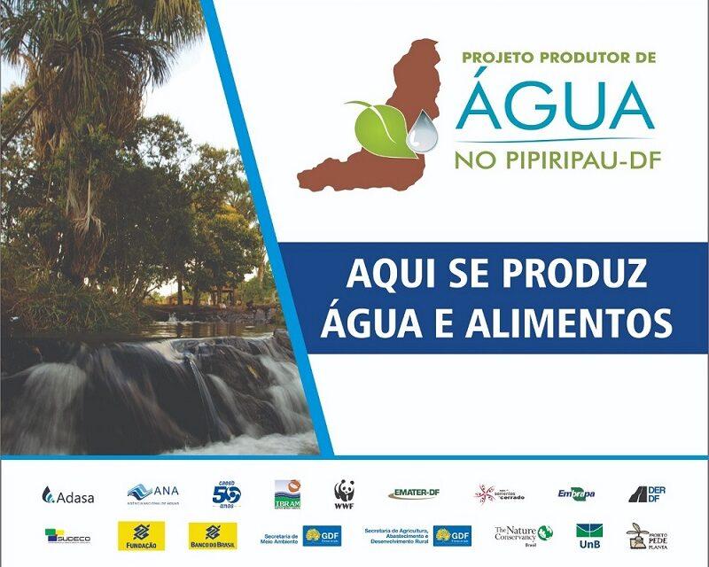 Projeto Produtor de Água do Pipiripau é finalista de concurso que conta agora com votação popular