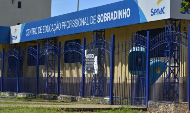 Senac abre vagas para cursos em Sobradinho