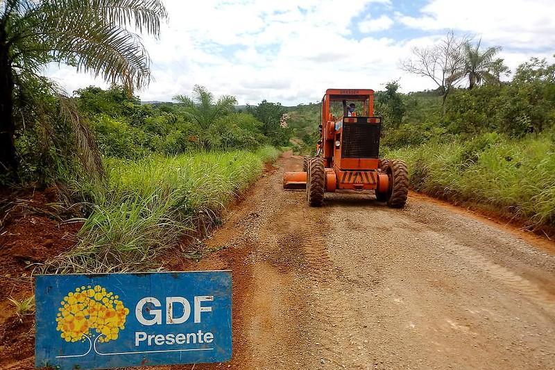 Trânsito facilitado para moradores da Fercal
