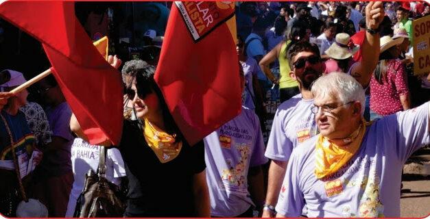 Mulheres do PSB, lideradas pelo MPS organizam 08 de março com greve de fome em homenagem aos 250 mil mortos, exigindo vacina e auxílio emergencial