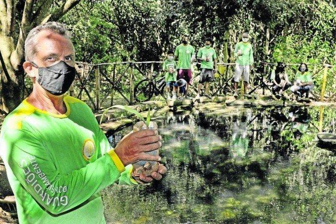 Guardiões do Meio Ambiente: moradores se unem para salvar Ribeirão de Sobradinho