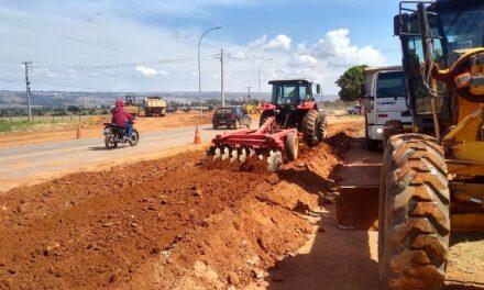 Nova rotatória vai melhorar tráfego na rodovia DF-440