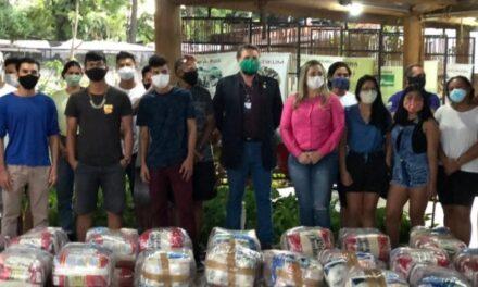 Funai inicia distribuição de mais 1 mil cestas de alimentos para indígenas do DF