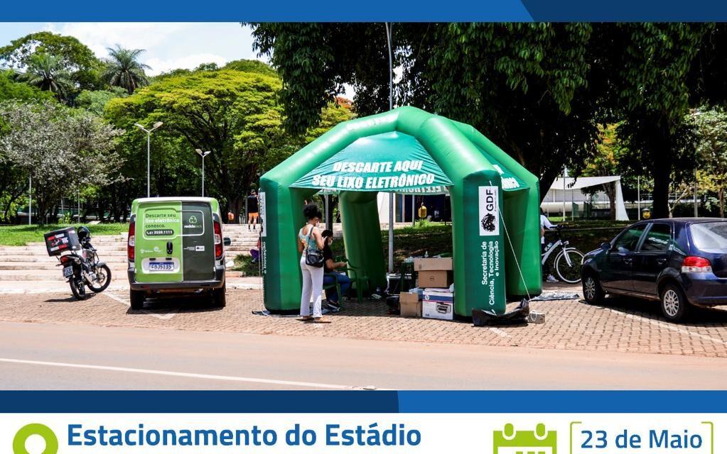 SOBRADINHO RECEBERÁ, NO MÊS DE ANIVERSÁRIO, DRIVE THRU DO LIXO ELETRÔNICO