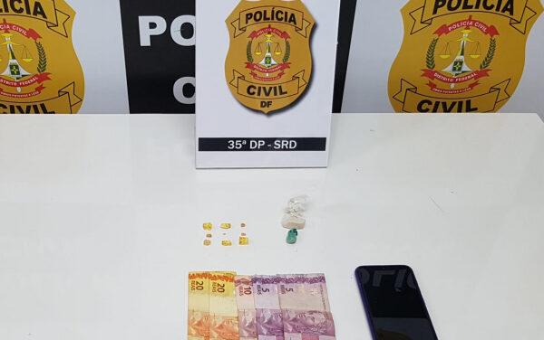 PCDF prende dupla de traficantes na AR 9 de Sobradinho II