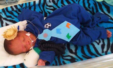 Bebês fazem ensaio na UTI do Hospital Regional de Sobradinho