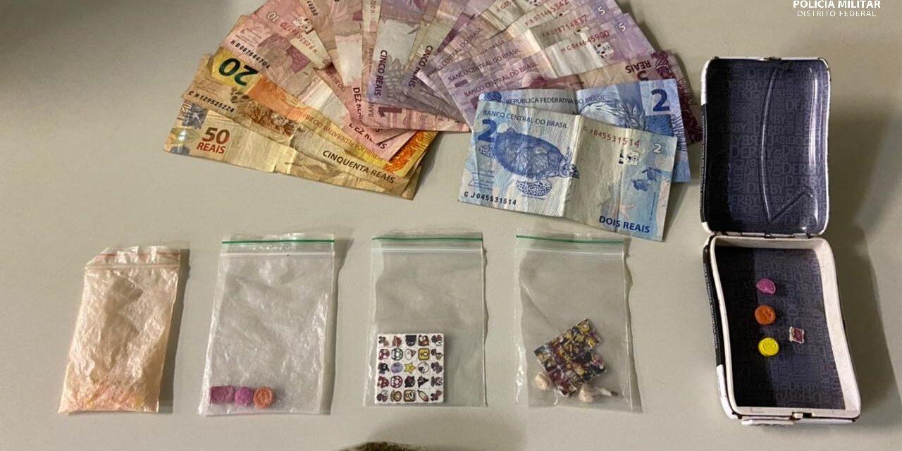 PMDF prende traficante de droga sintética em Sobradinho