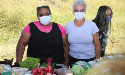 GDF leva serviços e ações às mulheres do Assentamento Chapadinha