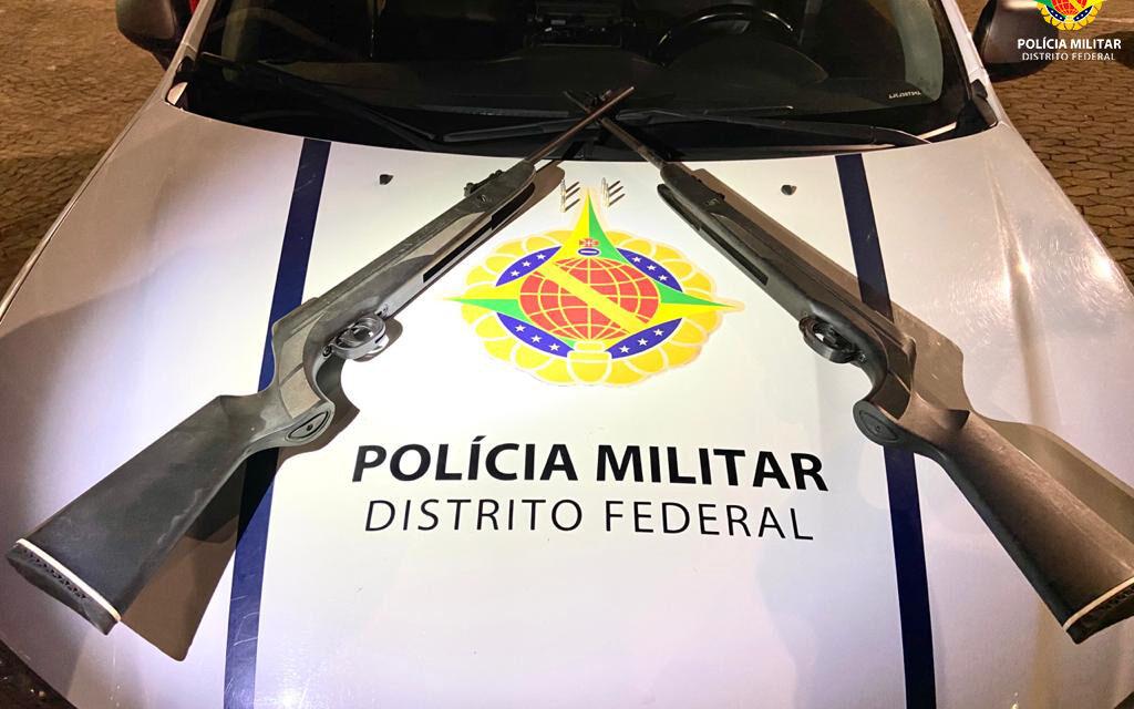 EM SOBRADINHO a PMDF prende homem por porte ilegal de arma de fogo