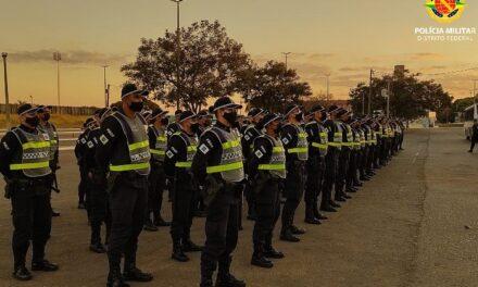 Alunos do Curso de Formação de Praças reforçam o policiamento na cidade de Sobradinho