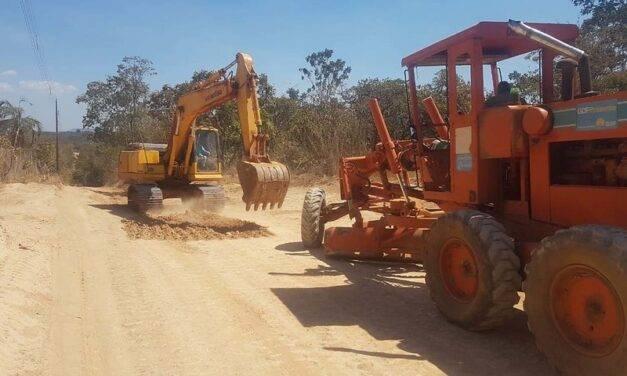 GDF Presente ajusta via não pavimentada na Rota do Cavalo