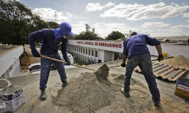 Hospital Regional de Sobradinho inicia reforma de setores