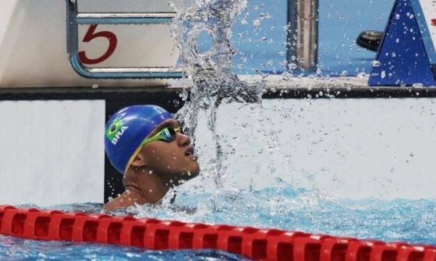 Wendell Belarmino vence os 50m livre e conquista ouro para o Brasil