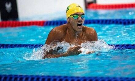 Paralimpíadas: Wendell Belarmino, atleta dE SOBRADINHO, conquista MAIS UMA medalha na natação