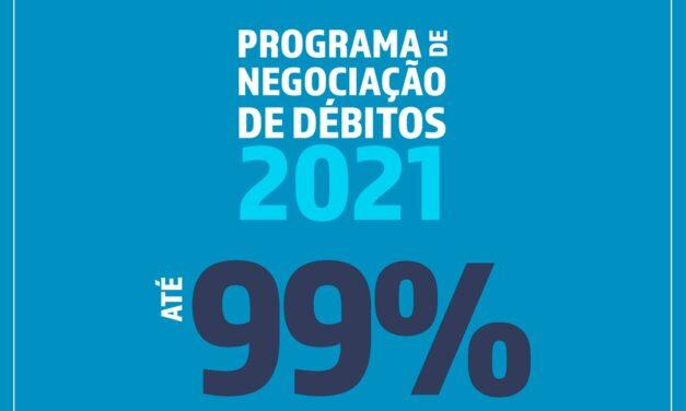 Caesb lança Programa de Negociação de Débitos 2021 – PJ