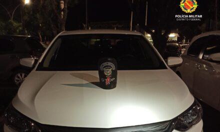 PMDF recupera carro roubado em Sobradinho